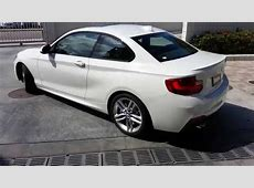 BMW 228I with M SPORT Package with 18