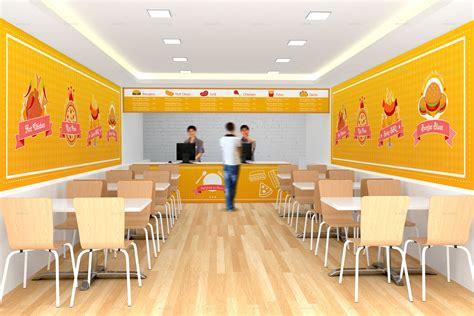 fast food cuisine fast food restaurant branding mockups by shrdesign