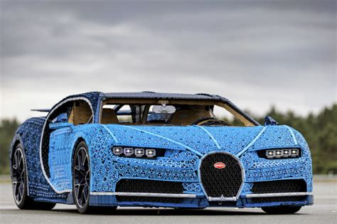 What Company Made Bugatti by This Size Bugatti Chiron Is Made Out Of Lego Sneakhype