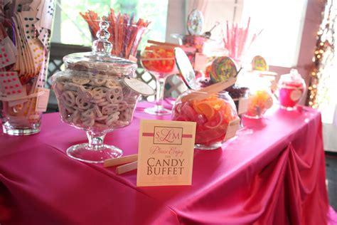 Candy Bar Tables On Pinterest Sweet Tables Dessert