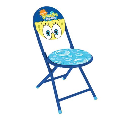 nickelodeon spongebob squarepants folding chair