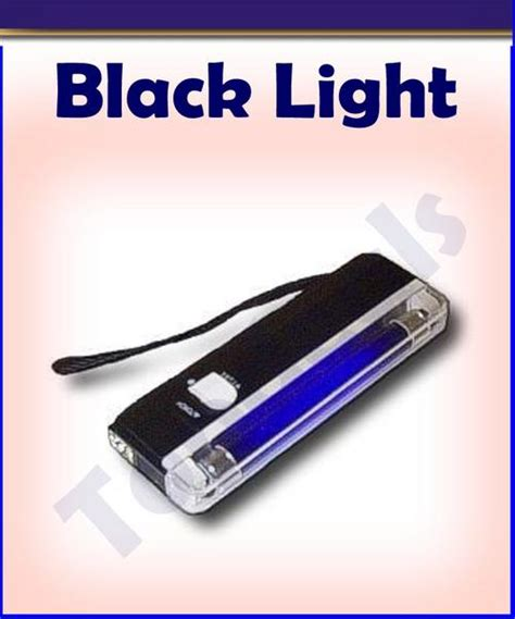 handheld black light 301 moved permanently