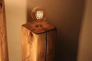 Lampe Aus Alten Holzbalken : vintage lampen selber bauen shop anleitungen diy ideen ~ Orissabook.com Haus und Dekorationen