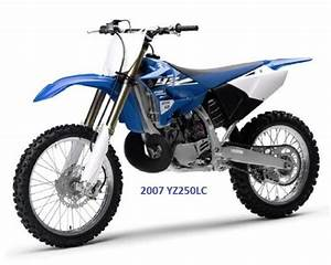 Yamaha Yz250lc Service Repair Mechanic Oem Shop Manual Cd 2007