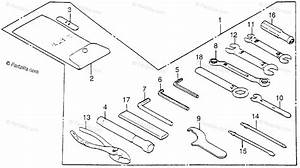 Honda Motorcycle 1984 Oem Parts Diagram For Tools