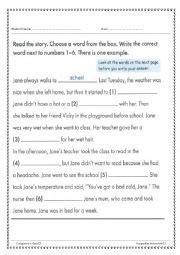 Story Telling Worksheets