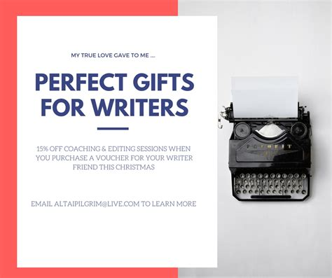perfect christmas gifts for writers coaching sessions