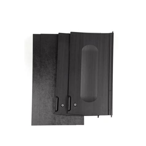 black cabinet with doors rubbermaid commercial products executive series black