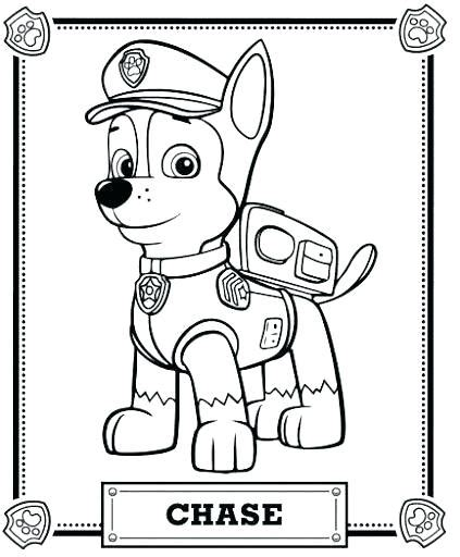 Chase Paw Patrol Drawing Free download on ClipArtMag