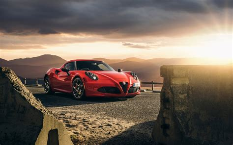 Car Wallpaper Hd by 2015 Alfa Romeo 4c Launch Edition Wallpaper Hd Car