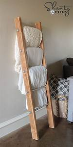 Blanket Rack Wood - WoodWorking Projects & Plans