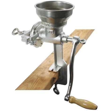 Corn Grain Mill Grinder Cast Iron Hand Crank Manual Oats Wheat Coffee Prepper   eBay