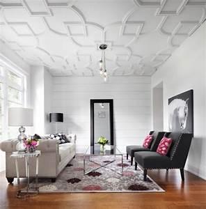 modeles de rosace pour faux plafond en platre decoration With modele de platre decoration