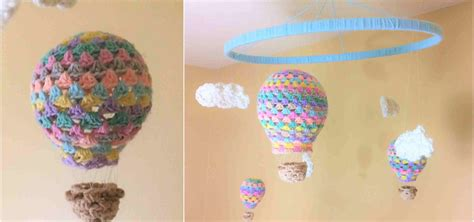hot air balloon crochet pattern pretty ideas