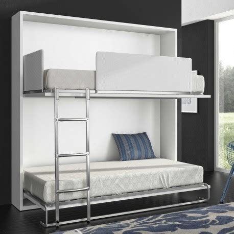 solde bureau armoire lit superposé escamotable horizontale rabatable