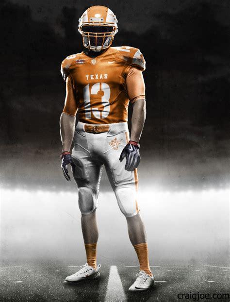 texas longhorn uniform concept designs
