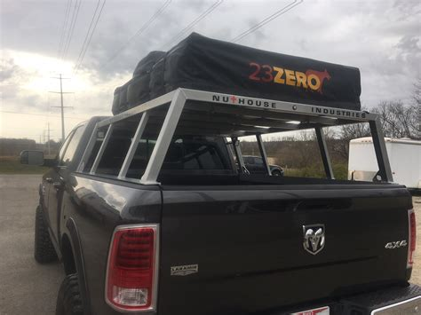 truck bed rack nutzo tech 1 series expedition truck bed rack nuthouse