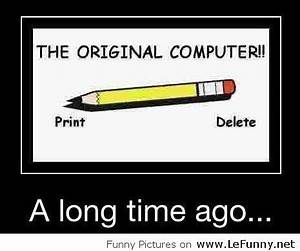 The original computer | Funny Quotes | Funny, Funny ...