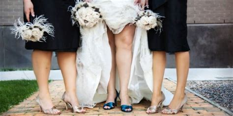 Wearing A Lace Wedding Dress? Show Me Your Shoes