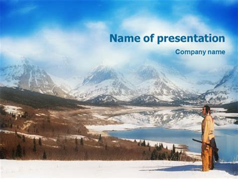 native american  template  powerpoint