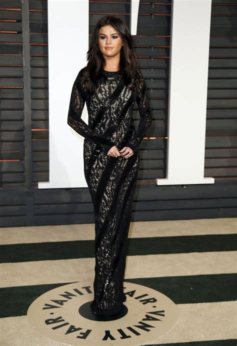 vanity fair oscar selena gomez at vanity fair oscar in