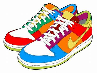 Nike Shoes Clipart Running Clip Shoe Sneakers
