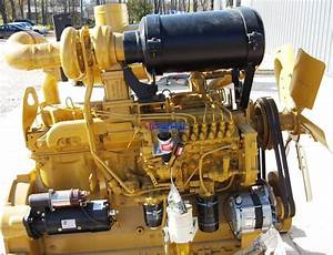 R  F  Engine Fits Caterpillar 3306 Engine Extended Long