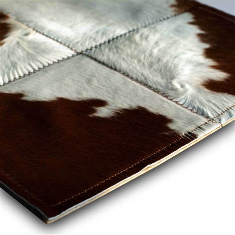 Kunst Kuhfell Teppich by Zimt Und Zucker Patchwork Teppich Aus Braun Weissem
