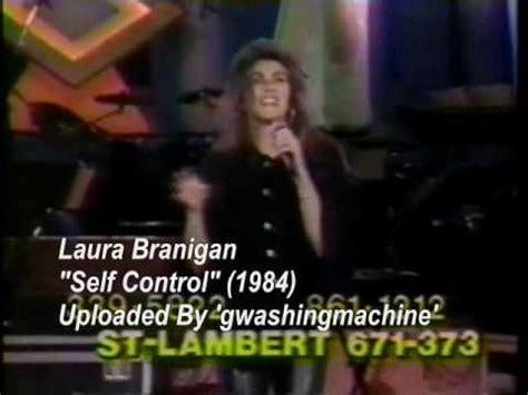 "Laura Branigan  ""self Control"" (1984) Live Youtube"