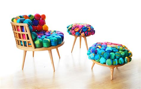 recycled chair cheery recycled silk chairs from meb rure design milk