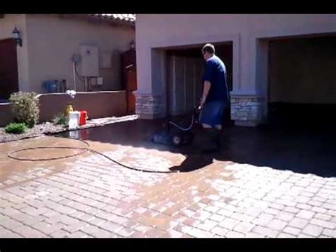 paver clean driveway cleaning  surface cleaner