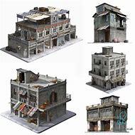 Game 3D Building Models