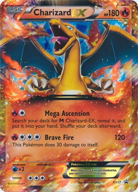 Board & card games stack exchange is a question and answer site for people who like playing board games, designing board games or modifying the rules of existing board games. Charizard EX XY17 - Pokemon PROMO Holo Ultra Rare Card (Regular Size)   Charizard, Pokemon cards ...