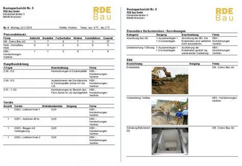 docma report bautagebuch software  freewarede