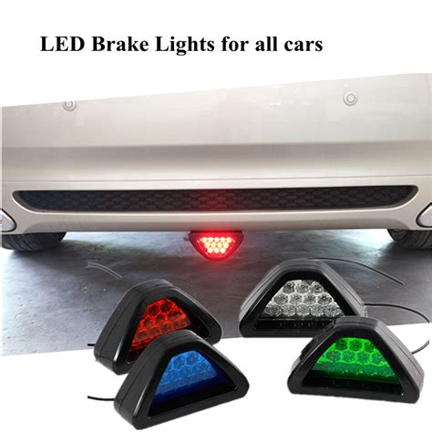 all car motor led brake parking warning fog lights