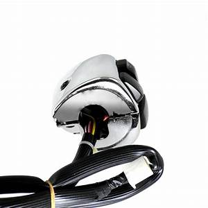 1 U0026quot  Motorcycle Handlebar Control Switch Housing Wires