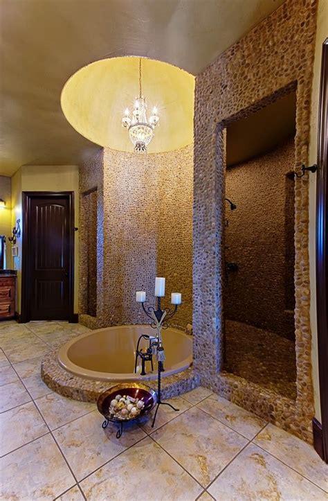 Beautiful Master Bathroom with walk through shower
