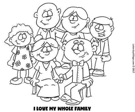 love   family coloring pages coloring pages