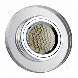 Led Spot 230v : led einbaustrahler spot glas cristal alu einbauleuchte set gu5 3 12v gu10 230v ebay ~ Watch28wear.com Haus und Dekorationen