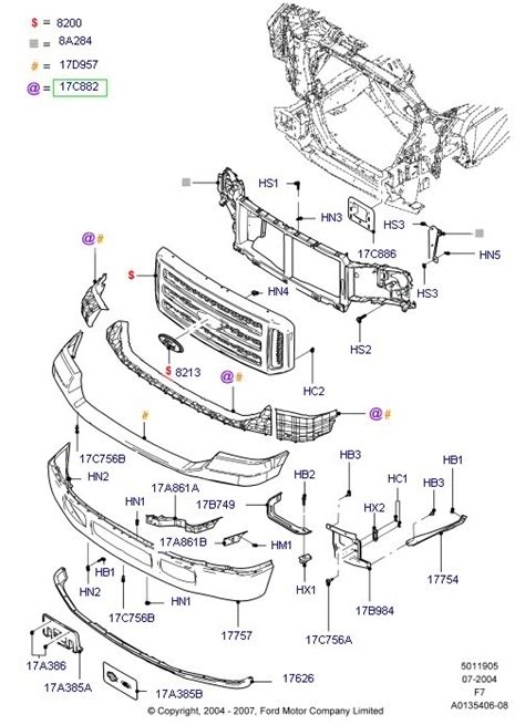 Cer For Ford F 250 Wiring Harnes Diagram ford f150 parts diagram 2003 periodic diagrams science