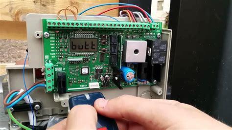 diy sliding door programar mandos en motor bft deimos bt