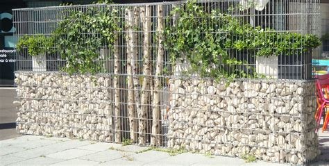 cloture en gabion mur de cloture gabions