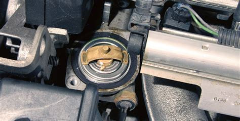 volvo   thermostat replacement