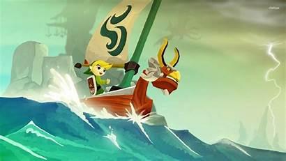 Wallpapers Link Toon Zelda Legend Waker Wind