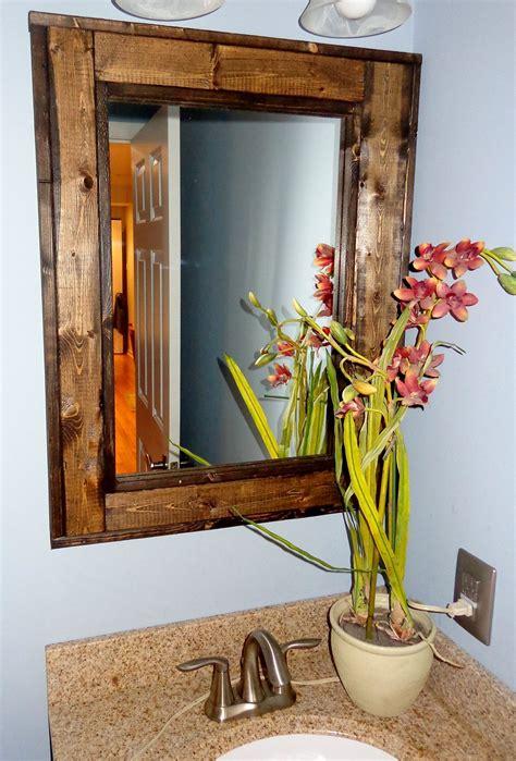 bathroom vanity window mirror reclaimed wood mirror