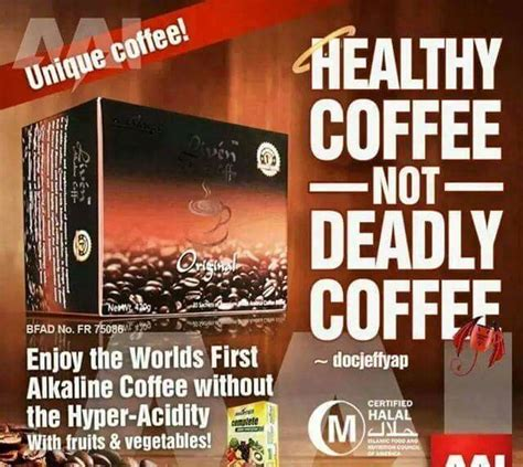 But choose the right one that can make them healthy like what mychoco alkaline chocolate drink can do! Liven alkaline coffee - Store - Alliance in Motion Global uae