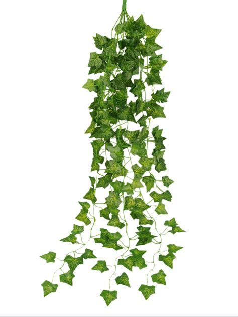 hanging vine plants artificial garden green plant hanging vine plants leaves garland home wall decor ebay