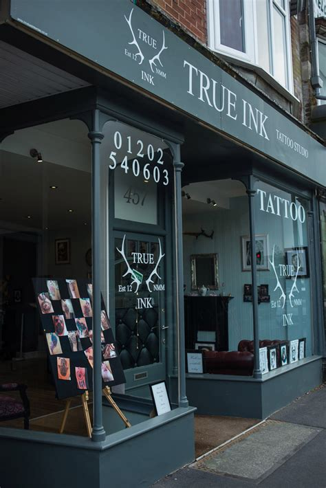 True Ink Tattoo Studio Poole - Steve Blackwell Signs and