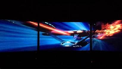 Triple Trek Star Monitors Screen Dual Surround