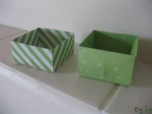 Boite De Rangement Papier : des tutos de boites en papier origami ~ Teatrodelosmanantiales.com Idées de Décoration
